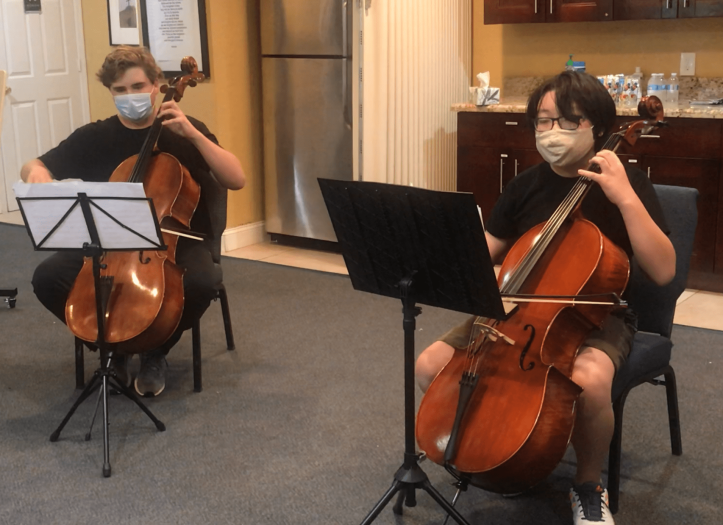 Cello Duo, 2020 Weston Music Festival, Youth all star! YAS!